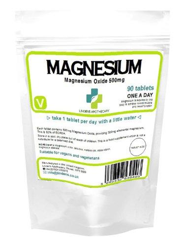 Magnesium Tabletten (90) (MgO 500mg)