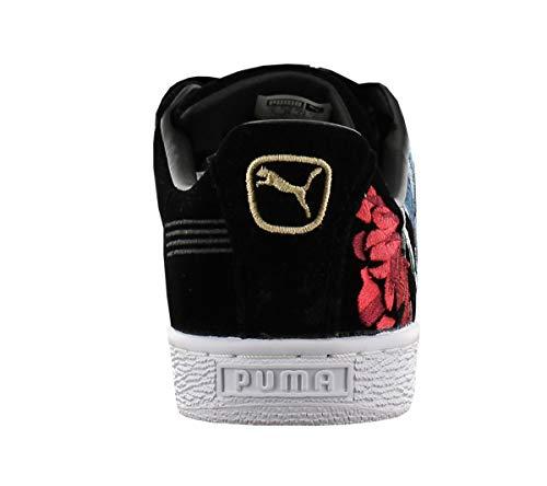 Puma Basket Hyper W Nero Emb Scarpa Heart rrgzqnA