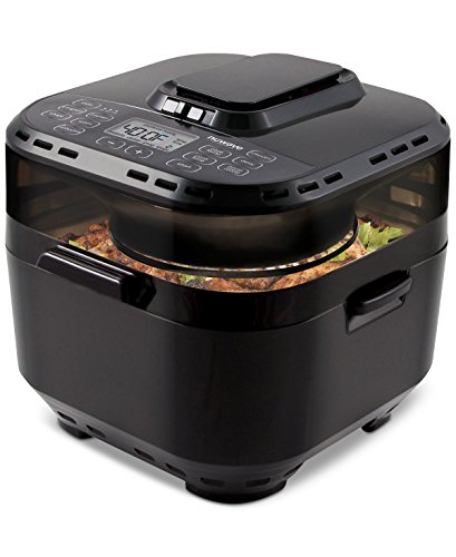 NuWave Brio Black 10 Quart Digital Air Fryer (Grilled Chicken Oven)