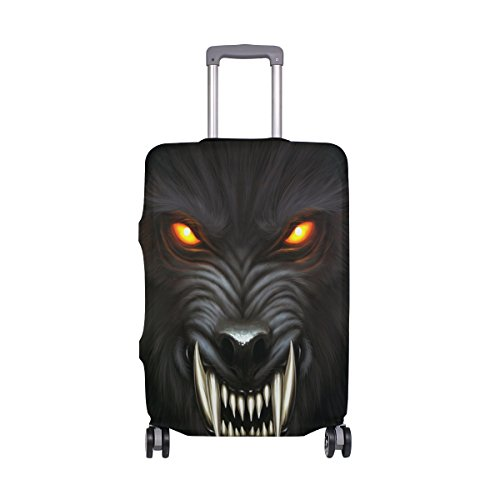 Wolf Luggage Cover Suitcase Protector Washable Spandex Baggage Cover with Zipper for Travel, Business and Outdoor by Yomole (Image #7)