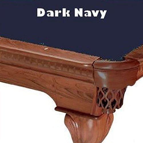 7 Foot Billiard Cloth Felt (7' Dark Navy ProLine Classic 303 Billiard Pool Table Cloth Felt)