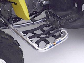 DG Performance 60-6250 - Alloy Series Nerf Bar - Aluminum fits Suzuki QuadSport LTZ 250 (2004 - - Bars Alloy Nerf
