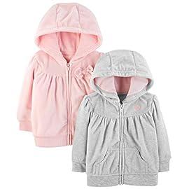 Simple-Joys-by-Carters-Baby-Girls-2-Pack-Fleece-Full-Zip-Hoodies