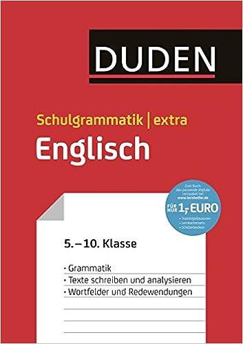 Duden Schulgrammatik Extra Englisch Englische Grammatik Texte