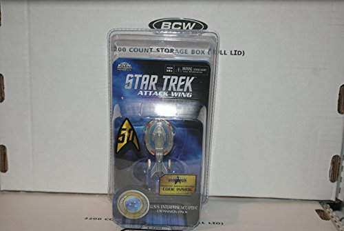 U.S.S. ENTERPRISE NCC-1701-E(2016) STAR TREK: ATTACK WING EXPANSION PACK by attack wing