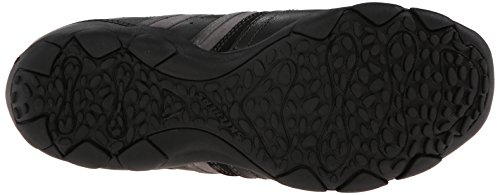 Mocassino Skechers Uomo Diametro-zinroy Slip-on In Pelle Nera