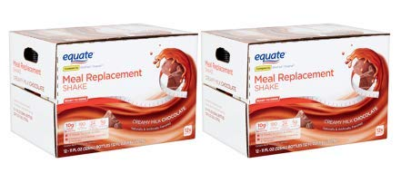 Equate Meal Replacement Shake, Creamy Milk Chocolate, 11 fl oz, 12 Count (Pack of 2) by Equate's (Image #9)