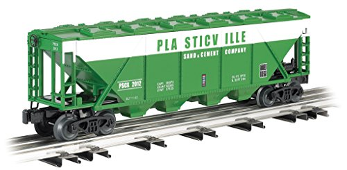 Bachmann Industries Quad Hopper Car Plasticville Sand & Cement Toy ()