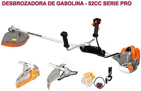 BRACOG HJD5200 Serie Pro Desbrozadora Motor de Gasolina, 2 Tiempos ...