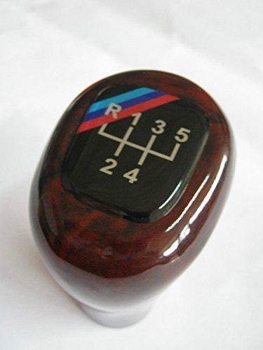 Hacol BMW 5 SPEED GEAR SHIFT KNOB E24 E28 E30 E34 E36 E46 M3 M5 M6 WOOD NEW