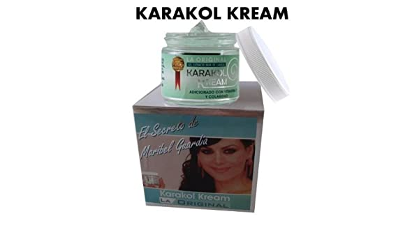 Amazon.com: 2 Karakol Kream Maribel Guardia Extracto GEL Baba De Caracol: Beauty