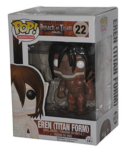 Funko 599386031 - Figura Ataque a los Titanes - titan ed Limitada
