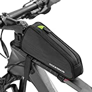 ROCKBROS Top Tube Bike Bag Bike Frame Bag Bicycle Bag Bike Pouch Pack Cycling Accessories for Road Mountain Bi