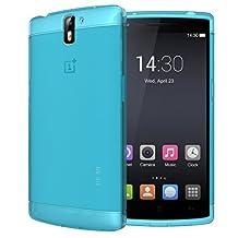 TUDIA Ultra Slim LITE TPU Bumper Protective Case for OnePlus One Smartphone (Teal)