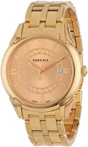 """Versace Men's VFI060013 """"Apollo"""" Rose Gold Ion-Plated Stainless Steel Watch"""