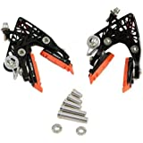 KCNC CB4 Calipers Brake Set (Front & Rear), Black #BK1083-7-self