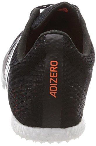 adidas Adizero MD, Scarpe da Atletica Leggera Unisex – Adulto Nero (Core Black/Hi-res Orange S18)