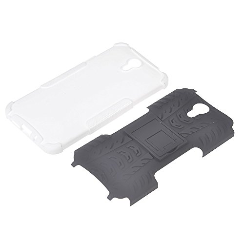 Lenovo ZUK Z1 Funda,COOLKE Duro resistente Choque Heavy Duty Case Hybrid Outdoor Cover case Bumper Para Lenovo ZUK Z1 - púrpura Blanco