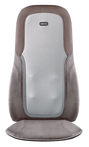 HoMedics MCS-750H Quad Shiatsu Massage Cushion with Heat (Homedic Shiatsu Massager)