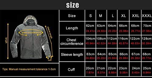 Abbigliamento A Comodo Solare Casual Uv Autunno Con Color Giacca Fitness Traspirante Mud Moda Protezione Primavera Battercake Uomo Sport Outdoor Vento 6qB1t1