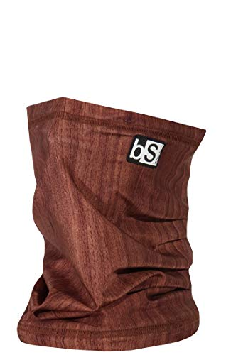 BlackStrap The Tube, Dual Layer Cold Weather Neck Gaiter and Warmer for Men and Women, Woodgrain