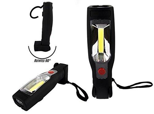 Race Sport RS-PFLASH 3W//210LM Plasma Style Hook /& Magnet Mount LED Utility Flashlight AM Merchandising