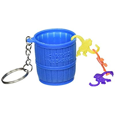 Monkey in a Barrel Keychain | Party Favor: Kitchen & Dining