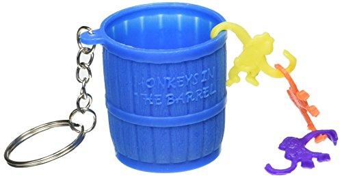 Monkey in a Barrel Keychain | Party Favor -