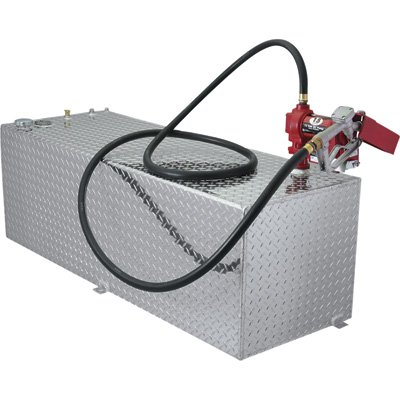 RDS 71791 Rectangular Transfer Liquid Tank - 91 Gallon Capacity