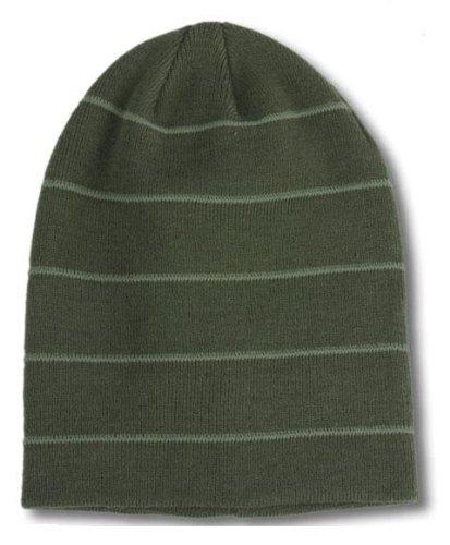 MARL-4x oversized Beanie Wollmütze Mütze Wintermütze Herrenmütze Skimütze Snowboardmütze Damenmütze Damenstrickmütze Herrenstrickmütze Long Beanie Slouch schwarz braun oliv