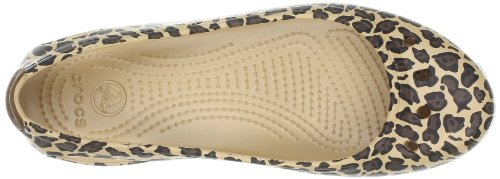 Ballerines Femme Leopard gold Or Kadee black Crocs 0qaHwEq