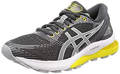 ASICS Australia Gel-Nimbus 21 Women's Running Shoe, Dark Grey/Mid Grey, 5 US