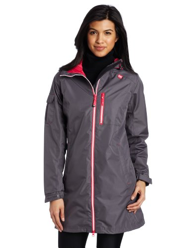 Helly Hansen Women's Long Belfast Jacket, Charcoal, Small