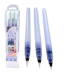Xpassion 3-Piece Water Brush Pen Set, White