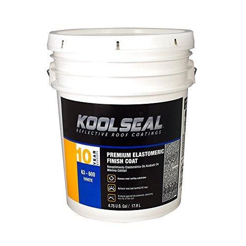 Kool Seal - KST COATING KS0063600-20 Whiteroof Coating, 4.75 Gallon