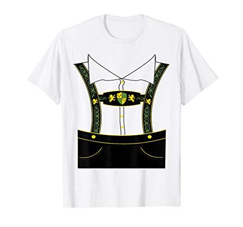 Bavarian Oktoberfest Lederhosen T-Shirt -