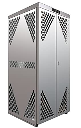 SECURALL OG10S - LP/OG Storage Cabinet, Steel, FM Approved, 2-