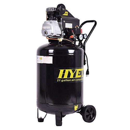 [해외]Goplus 21 갤런 125 PSI 수직 공기 압축기 주철 2.5HP 모터 휴대용/Goplus 21 Gallon 125 PSI Vertical Air Compressor Cast Iron 2.5HP Motor Por