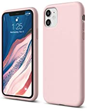 """elago Liquid Silicone Gel Rubber Shockproof Case Compatible with Apple iPhone 11 (6.1"""") - Premium Silicone, Full Body Protection : 3 Layer Structure, Raised Lip for Screen & Camera"""