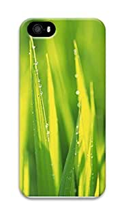 Case For Iphone 6 4.7 Inch Cover Green Grass And Water Drops 3D Custom Case For Iphone 6 4.7 Inch Cover
