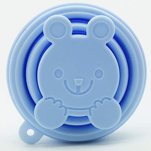 SPEQUIX Vaso esterilizador plegable de silicona para la limpieza y almacenamiento de la copa menstrual, reutilizable y ligero, aprobado por la FDA ...