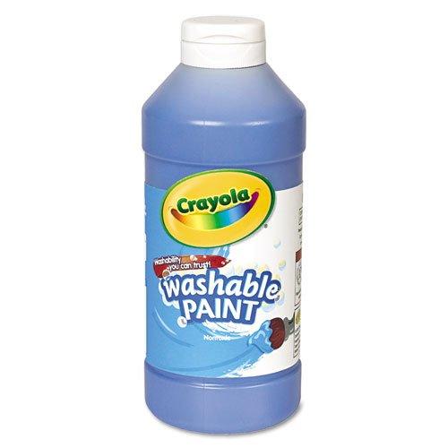 (Crayola 54-2016-042 Washable Paint- Blue, Grade: Kindergarten to 3)