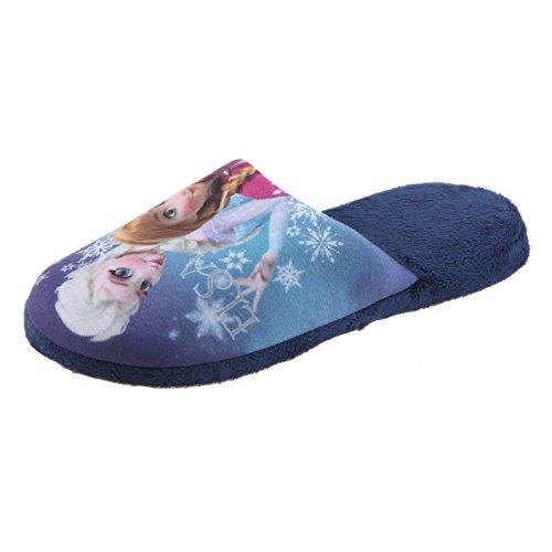 Plüsch Hausschuhe TH Disney Blau Kuscheltier Eiskönigin Schlappen PABL 27 Frozen SAMs 38 Blau Mädchen Die Pantoffel Frozen IyxRgwRq8O