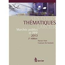 Code thematique larcier - marches publics et ppp