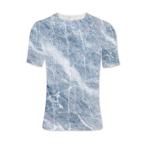 Marble Fashionable T Shirt,for Men,L