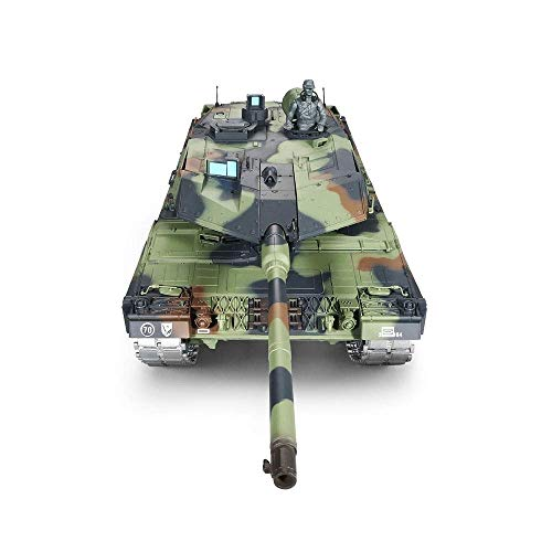 TIEHUE Electric RC Toys Tank, Child Remote War Tank,German Leopard 2 A6 Heavy Tank 2.4Ghz Remote Control 1/16 Scale…