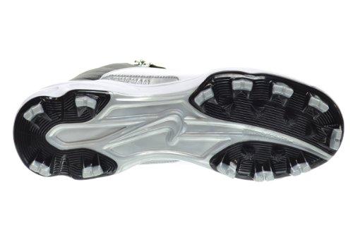 d7c7cedc364178 Jordan 12 Retro MCS Playoff Men s Cleats Shoes Black Gym Red-White-Metallic  Silver 625219-001