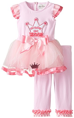 - Rare Editions Baby Baby Girls' Crown Applique Tutu Legging Set, Pink, 24 Months