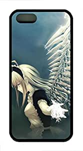 Fly Anime Girl - iPhone 5S Case Funny Lovely Best Cool Customize Black Cover