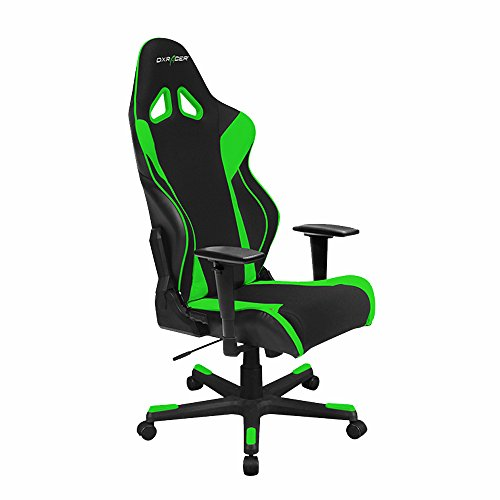 DXRacer Racing Series DOH/RW106/NR Racing Bucket Seat Office Chair Gaming Chair Automotive Racing Seat Computer Chair eSports Chair Executive Chair Furniture With Pillows (Black/Red)